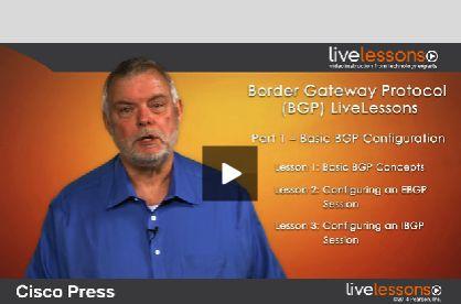 Border Gateway Protocol (#BGP) LiveLessons (Downloadable Video) By Jeff Doyle. #CiscoPress  http://www.ciscopress.com/store/border-gateway-protocol-bgp-livelessons-downloadable-9781587144899