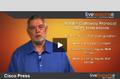 Border Gateway Protocol (#BGP) LiveLessons (Downloadable Video) By Jeff Doyle. #CiscoPress  http://www.ciscopress.com/store/border-gateway-protocol-bgp-livelessons-downloadable-9781587144899