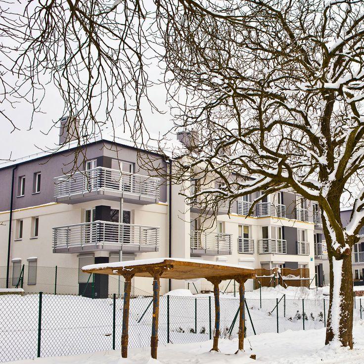 #Male_Blonia_Estate, #Szczecin, #Poland @ winter