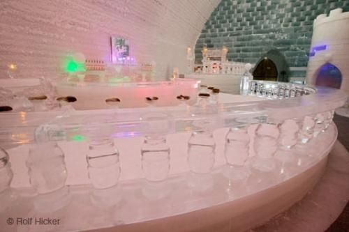 Go to ice bar in Fairbanks Alaska..this looks too awesome to not experience