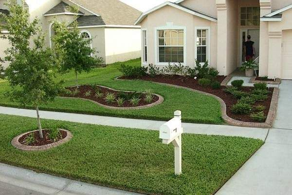 Front And Backyard Landscaping Ideas basic landscape ideas for front yard 1 Front Yard Landscaping Ideas Gardens Front Yard Landscaping And Front Yards