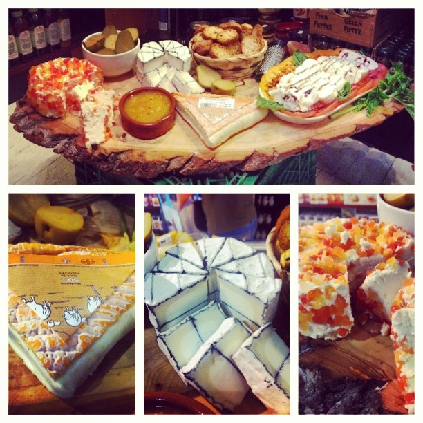 Scheffler's in St Lawrence Market known for their incredible cheese boards. Note the Bumpercrop Twisted Pears. We are proud to be part of Scheffler's.