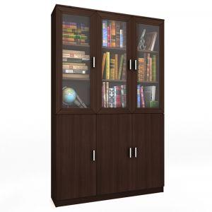 3-door-book-case-walnut. *****