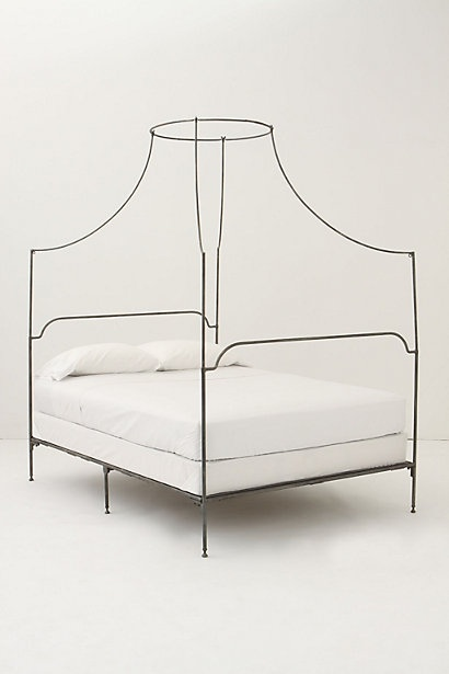 This is the Anthropologie bed I've been drooling over for the past couple years. It's been WAY out of my price range, so I've found a reasonable compromise at pbteen.com, of all places. Surprise!