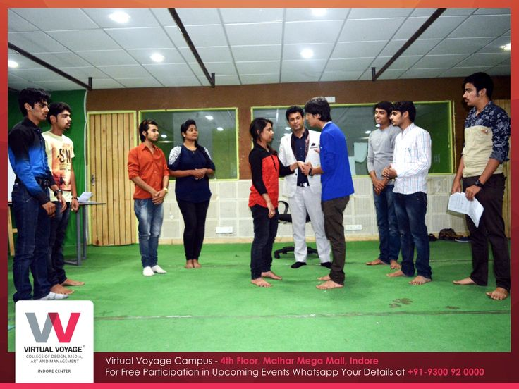 Virtual Voyage College is a New Learning for our Aspiring Acting student! Join us in Drama Classes by Firoz Sir.