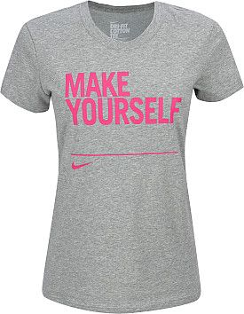 Nike Women's 'Make Yourself' Tee Incubus?