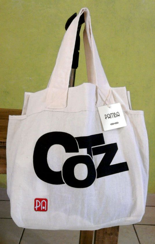 COTZ pa la banda! (palabra comiteca pa encender los corazones) #bag #handmade #cotz