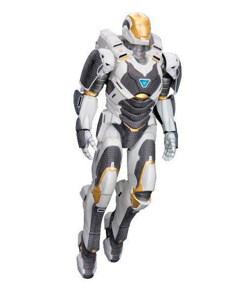 Figura Iron Man 3 Mark XXXIX Starboost, 20cm Dragon Model Figura de la armadura Mark 39 que aparece en el film Iron Man 3, creada por Dragon Models a escala 1/9.