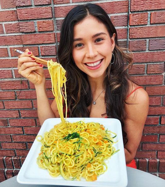 56 best raw vegan recipes images on pinterest vegan meals vegan mango coconut curry noodles so good new video on my channel forumfinder Image collections