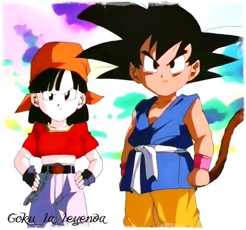 dragon ball gt goku and pan meet