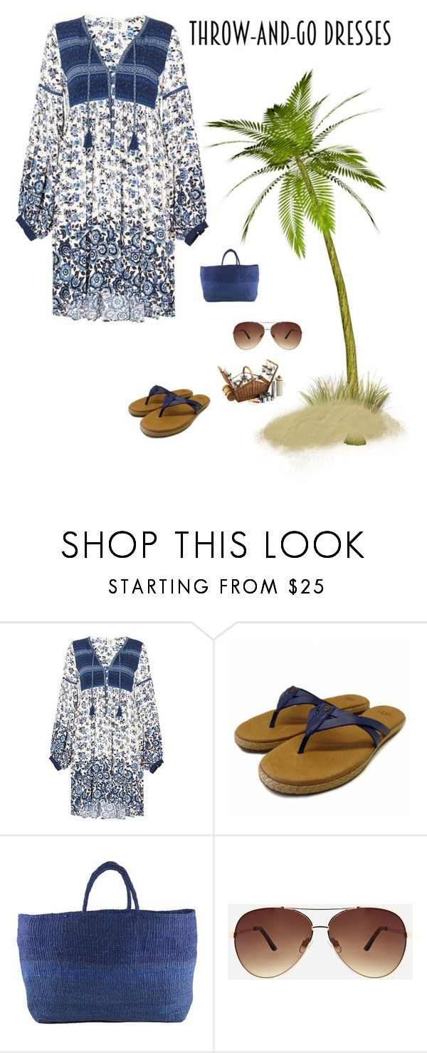 """""""Beach Fashion"""" by kotnourka ❤ liked on Polyvore featuring Far + Wide Collective and Ashley Stewart"""