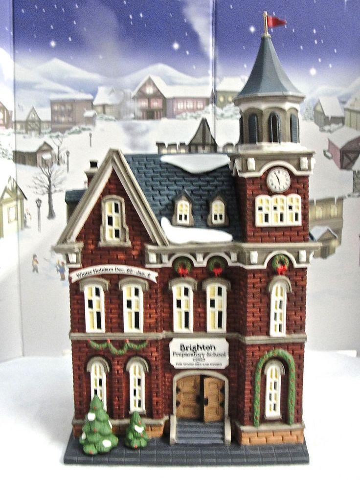 DEPT 56 CHRISTMAS IN THE CITY *BRIGHTON SCHOOL* 58876 RETIRED 1998 BRAND NEW WBX