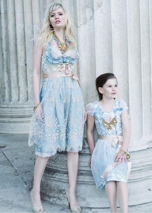Hochzeitsdirndl Cordiality dirndl dresses for bridesmaids and flower girls
