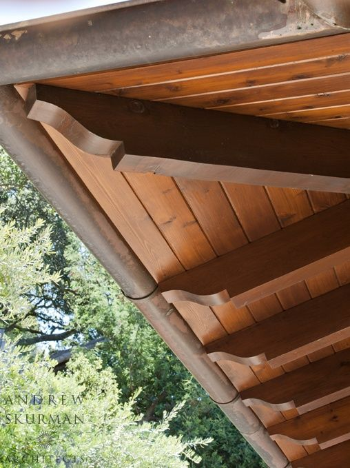 1000 ideas about exposed rafters on pinterest craftsman for Decorative rafter tails
