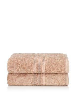 65% OFF Chortex 2-Piece Imperial Bath Sheet Set, Beige