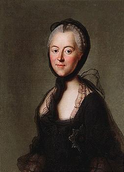 NOT Catherine II by Pietro Antonio Rotari, BUT Maria Antonia of Bavaria