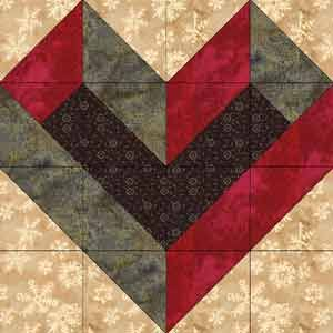 Quilting Information ArticleFree Pattern, Quilt Boxes, Heart Quilt Square, Quilt Blocks, Heart Quilts, Cheveron Pattern, Block Patterns, Quilt Tutorials, Info