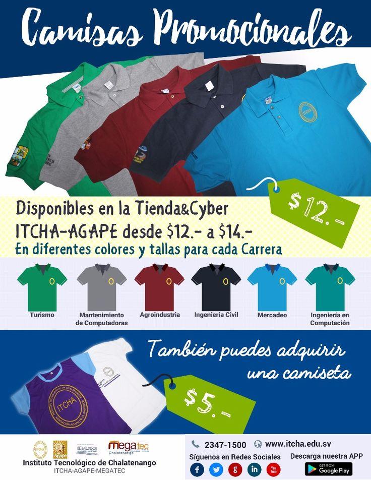 Camisetas Promocionales ITCHA-AGAPE