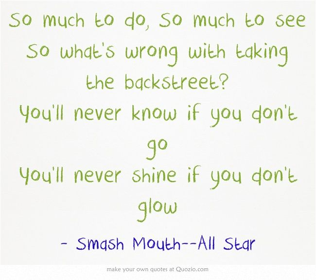 Smash Mouth--All Star