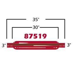 Cherry Bomb 87519CB - Cherry Bomb Glasspack Mufflers