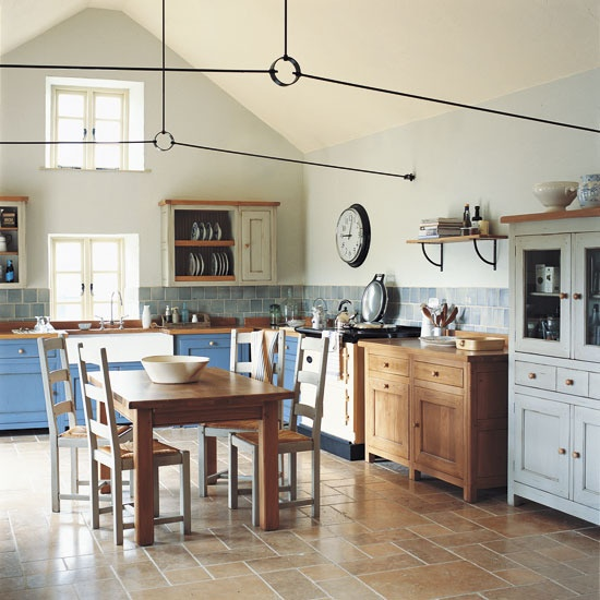 Bastide kitchen from Fired Earth