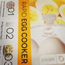 At Barix Clinics, we are obsessed with the Dash egg cooker. It makes the hassle of cooking hard-boiled, soft-boiled, and poached eggs a breeze! This cooker is a great way to easily include the great benefits of eggs in your diet. A large egg has approximately 80 calories and 6 grams of protein. Eggs are also a great source of selenium, vitamin D, zinc, iron, and copper.