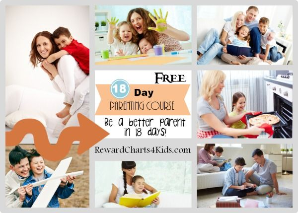 A free positive parenting course that will help you improve your parenting skills and be a better parent in only 18 days.