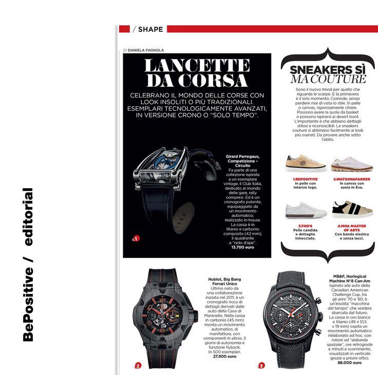 BePositive / Editorial  Auto Magazine