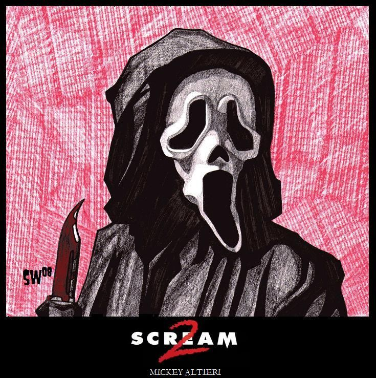 Ghostface Scream 2 By Fiendish Art On Deviantart