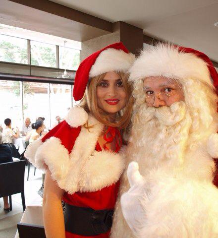 Miss Claus and Santa