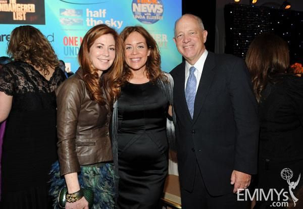 Dana Delaney, Susie Fogelson, and Billy Shore at the Sixth Television Academy Honors.