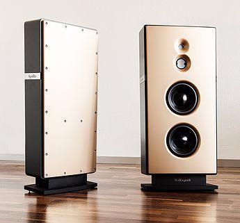 Einer der besten High-End-Lautsprecher der Welt | Resonanzfreies Guss-Gehäuse aus Polymer-Beton | Handgemachte Luxus-, Klang- und Designqualität aus Aachen