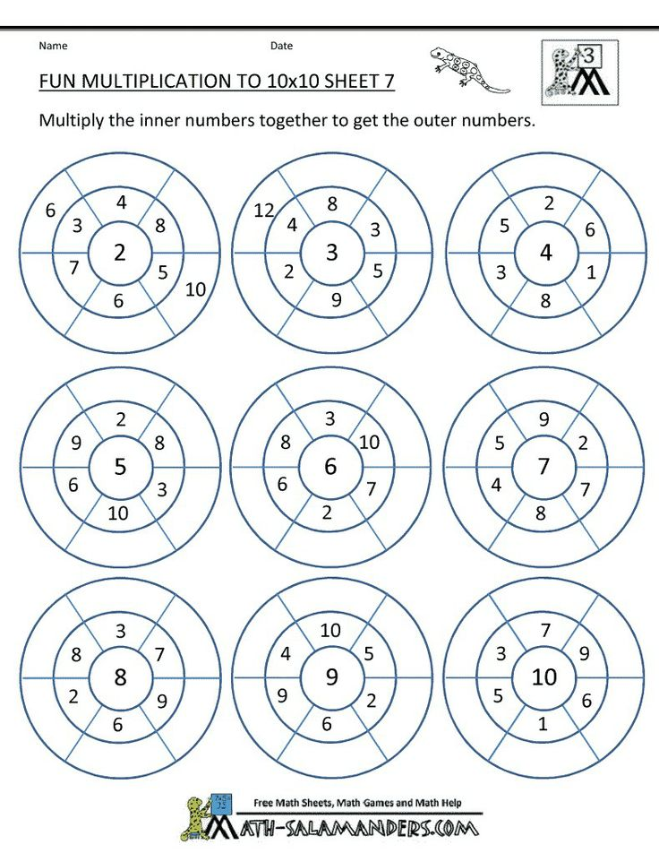 Multiplication Coloring Activity Worksheets – Fun Multiplication Worksheets Grade 4