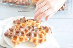 wafeltjes, maak met dit recept deze heerlijke wafeltjes met chocolade!