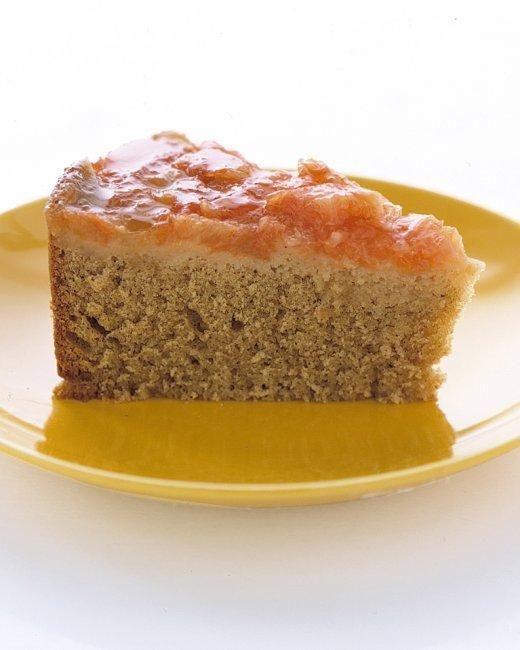 Grapefruit Upside-Down Cake Recipe: Desserts, Yellow Cake, Grapefruit Upside Down, Grapefruit Recipe, Food, Upside Down Cakes, Sweet Tooth, Martha Stewart, Cake Recipes