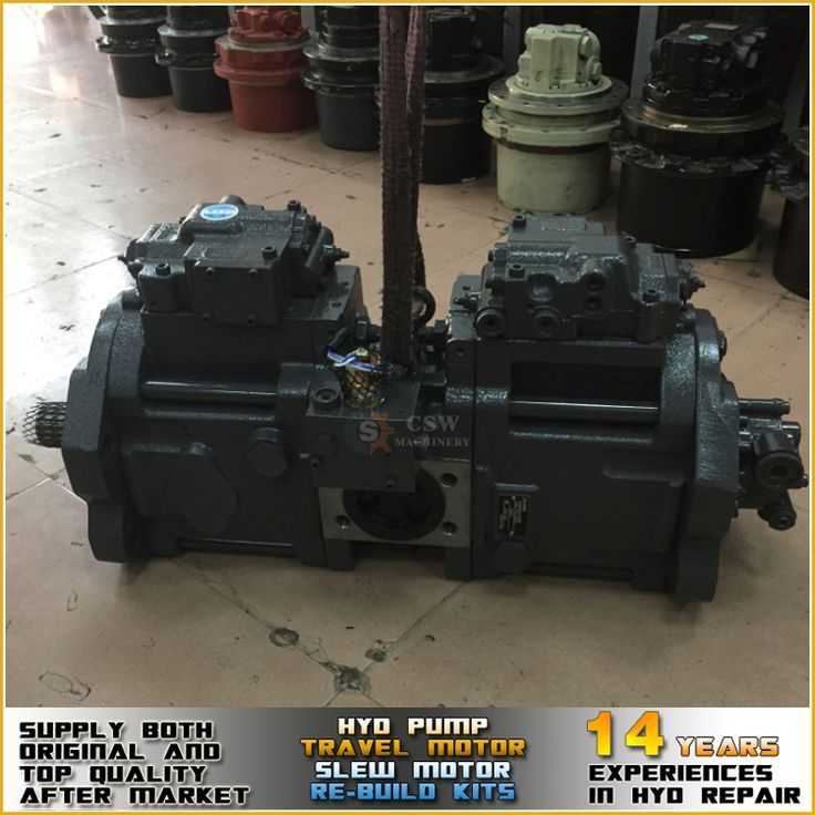 Brand new imported Kobelco SK350-8LC excavator pump K5V140DTP hydraulic pump