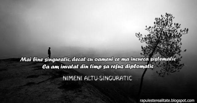 Rap Romanesc: Nimeni Altu-Singuratic