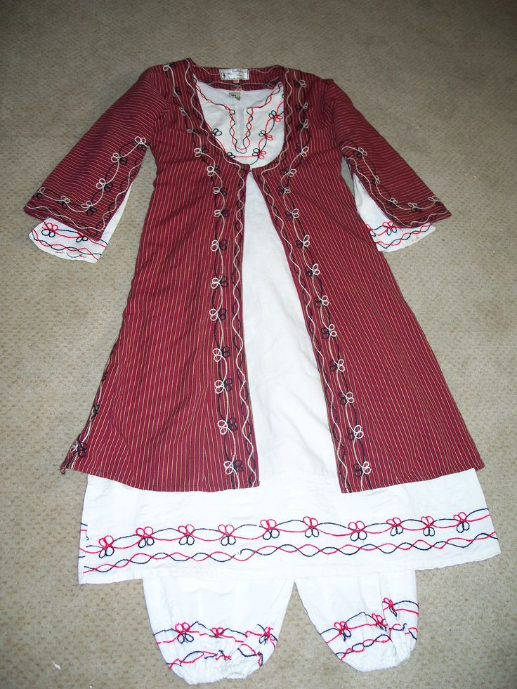 Greek Cypriot traditional girl's outfit
