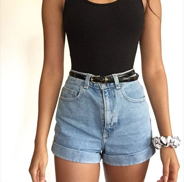 High Waisted Shorts Outfits For Summer U2022 Itsemmabaes U2022 U2026 Clothing Outfiu2026 Short Outfits High Waisted Shorts Outfit Fashion