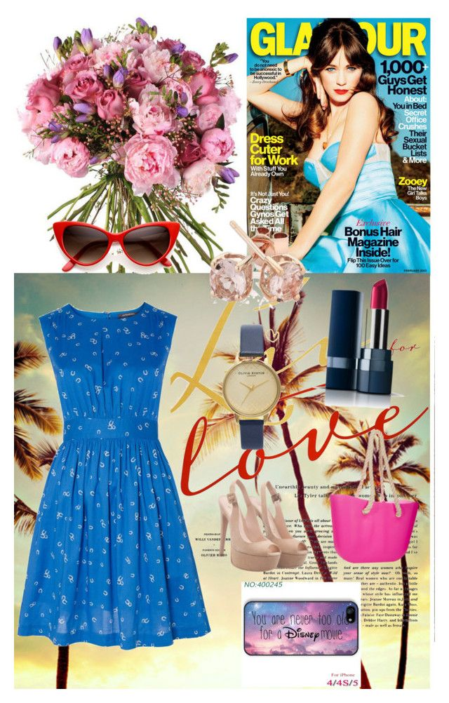 Summer fun by sapphirereport on Polyvore featuring polyvore, fashion, style, Emily and Fin, Reeds Jewelers and Disney