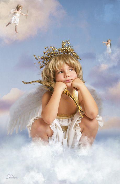 нади найти фото с изображением ангелов современный