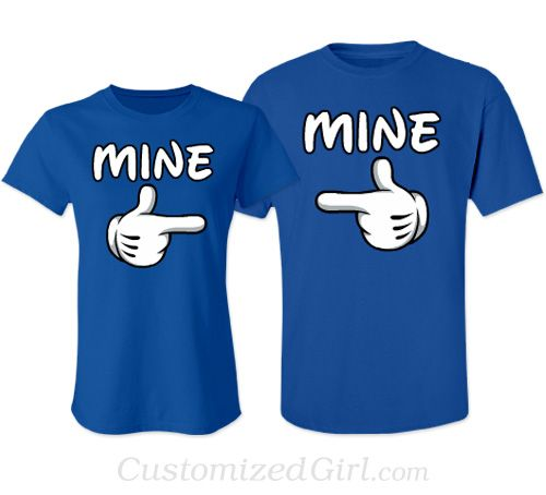 Couple Shirts Design Blue Images