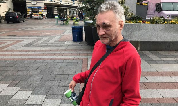 Seattle Homeless Person Attacks Downtown Musician Downtown Seattle Seattle Street Downtown