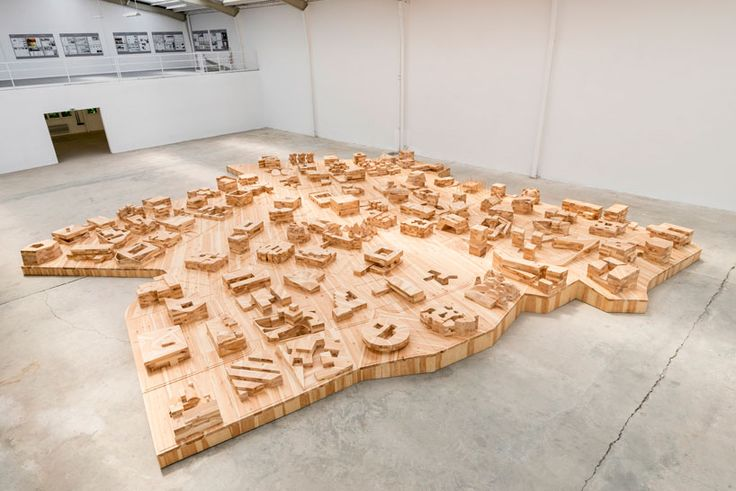 ai weiwei & herzog + de meuron curate ordos 100 model at galleria continua - designboom | architecture + design magazine