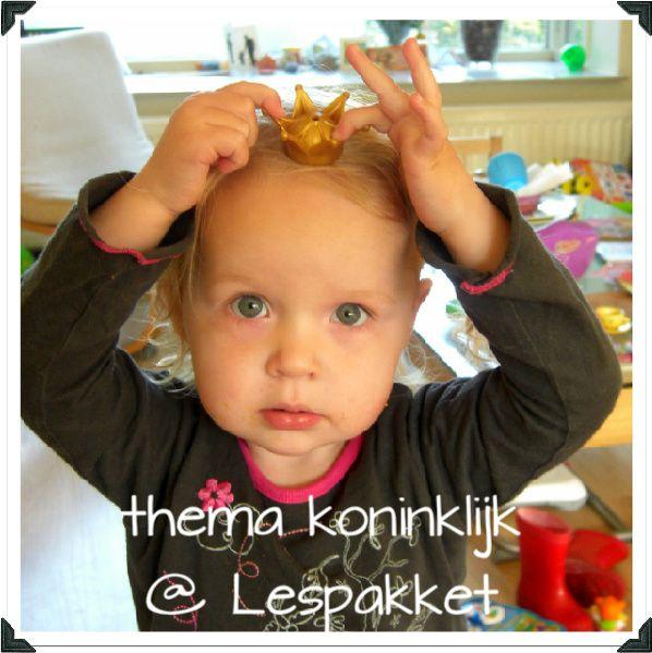 thema koninklijk - jufBianca.nl - koning - koningin - prins - prinses - koningshuis - koninkrijk - paleis - lesidee
