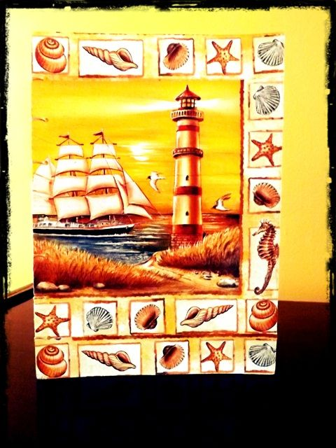 "Jurnal Handmade ""The Lighthouse"" http://paintynotes.ro/lighthouse/"