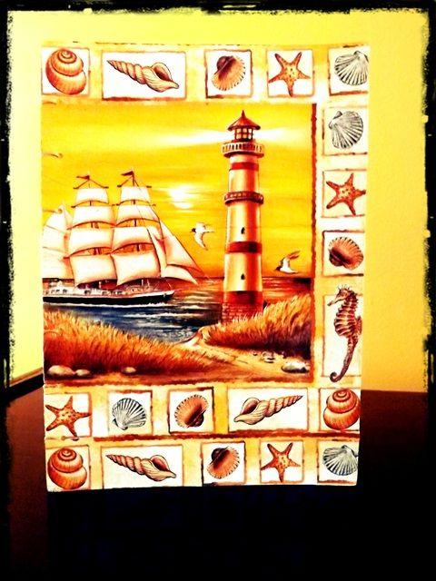 "Jurnal Handmade ""The Lighthouse"" http://paintynotes.ro/lighthouse/"