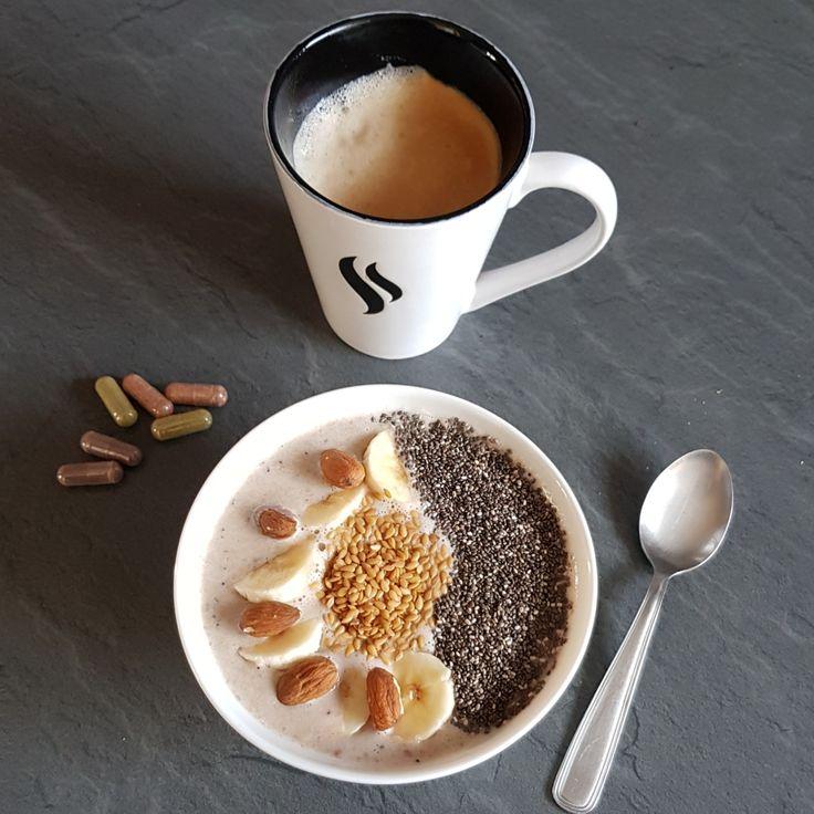 Super shake bowl protéiné végétal vanille