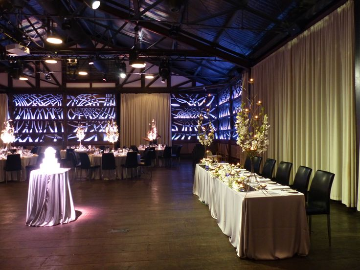 Weddings at Showtime Events Centre, South Wharf, Melbourne.