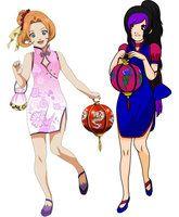 Sawaii Hitomi and Tyma Akera. Collab.